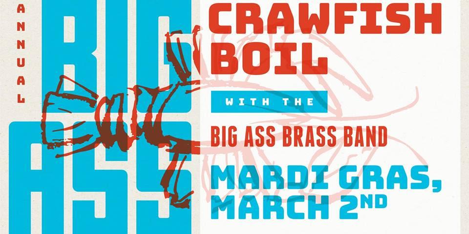 Mardi gras big ass Mardi Gras Big Ass Crawfish Boil Party In Plano At Box Garden At