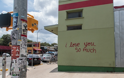I Love You So Much Mural In Austin At Jo S Coffee South Congress