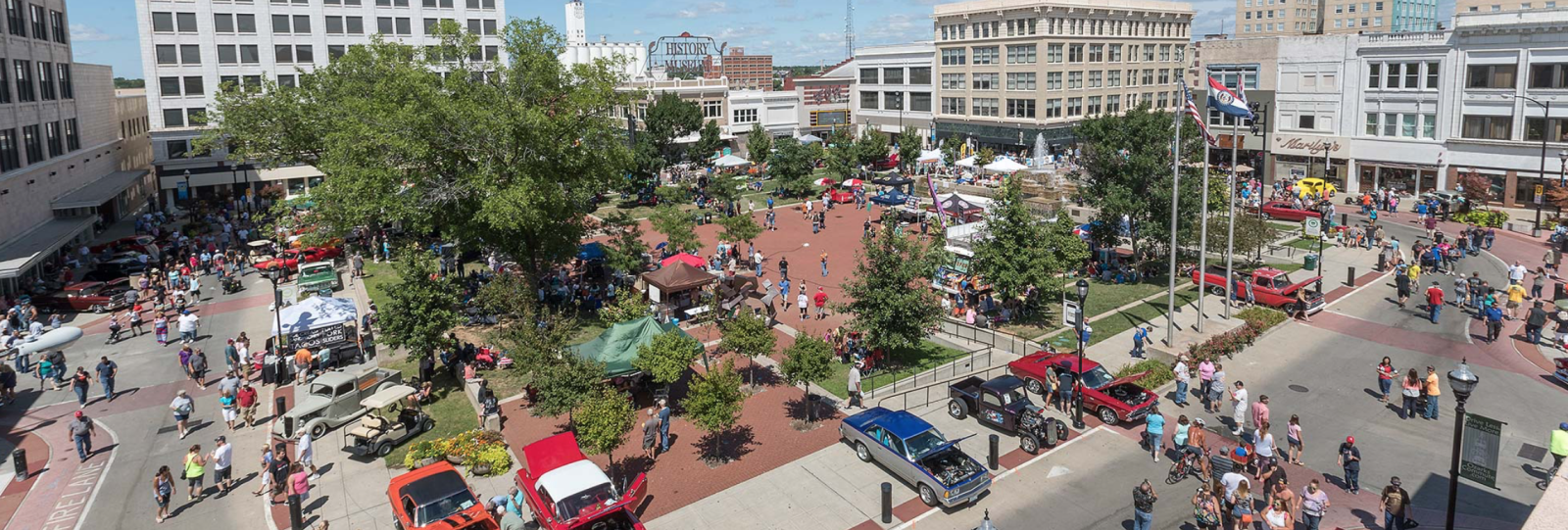 Downtown Springfield, Missouri, Upcoming Events in
